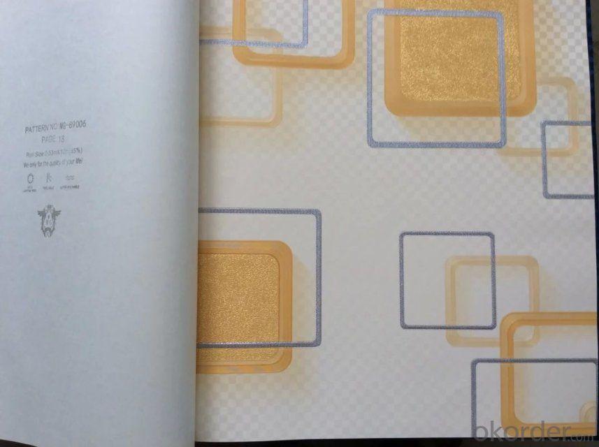 PVC Wallpaper 2015 Building Material China Silk Wallpapers Modern Design Wallpaper