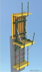 Cantilever Formwork Used in The Concrete Pouring of Pier, High Buildings