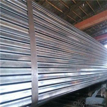 Construction Material Q235 Black Welded Tubular Steel