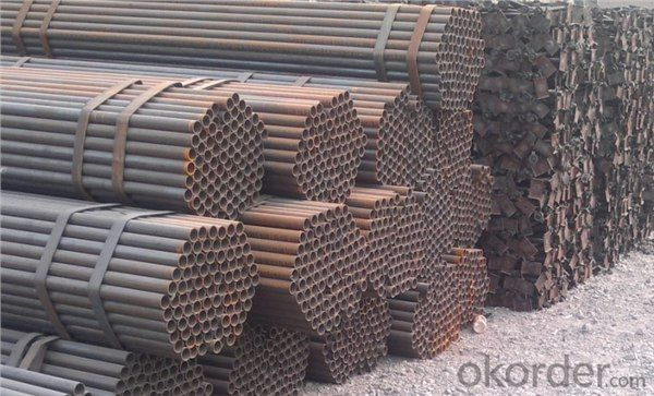 Welded Black ERW Steel Pipe JIS Standard