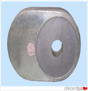 Slide Gate Refractories Refractory Slide Gate Plate for Steel Casting Erosion Resistance