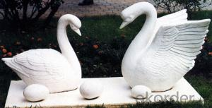 Animal Sculpture by Natural Stone, Gardening Decoration