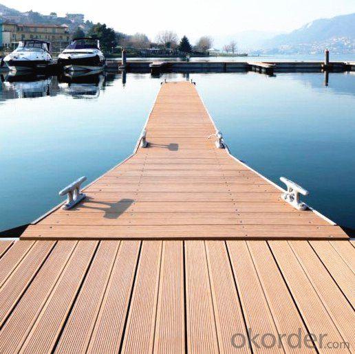 Wood Plastic Composite Outdoor Exterior Deck for Landscape