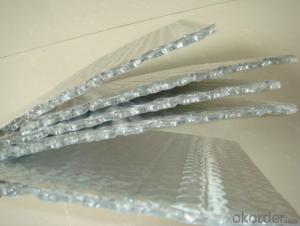 Aluminum Foil Insulation Sheet with Bubble Core