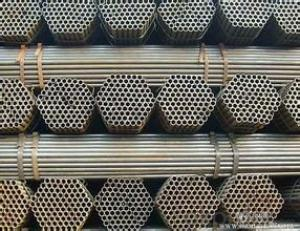 Steel Pipe  Welded Black ERW Steel Pipe 5L