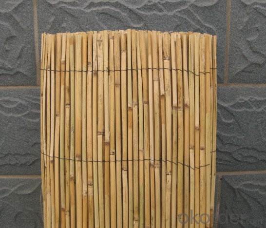 Natural Reed Screen Garden Decoration Reed