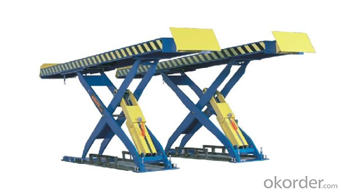 QJY030B Scissor Lift Hydraulic Lift For Car Wash Designed For In-ground Installation