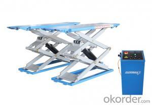3.5T Protable full rise car scissor lift for sale