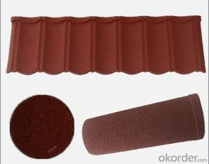 Waterproofing Corrugated Colorful Roof Tile