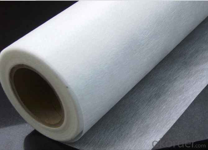 E-glass Fiber Surface Tissuing Mat For GRP