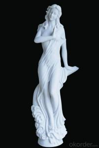 Figure Sculpture by Natural Stone, Garden and Outdoor Decorations