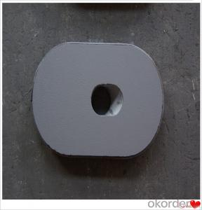 Slide Gate Plate Machine Refractory Slide Gate Plate for Steel Casting Erosion Resistance