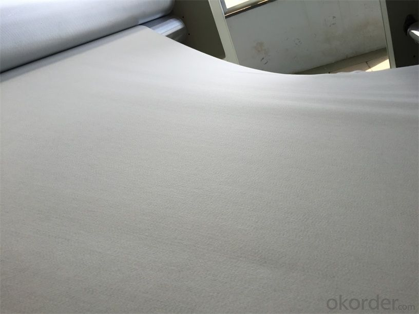 PP Non Woven Geotextile with Short Fiber