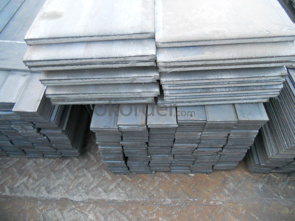 Low Carbon Steel Flat Iron bars in High Quality