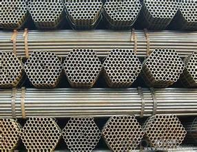 Welded Black ERW Steel Pipe API 5L ASTM A53 Steel Pipe for Water Oil Conveying