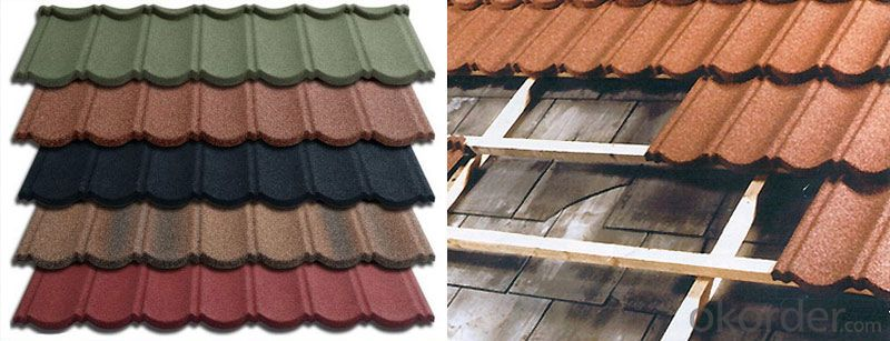 Galvanized Roof Tile with Zinc Iron Sheet
