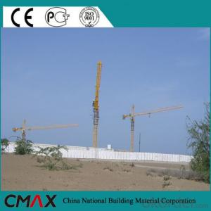 Fixed Types of QTZ160 Used Self Erecting Tower Crane for Sale in Dubai