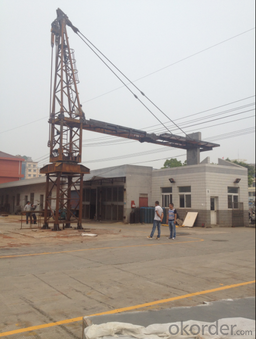 Hot Sale T5023-10T Topkit Tower Crane In China