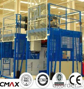 Building Hoist Mast Section Manufacturer with Max 3.2ton Capacity