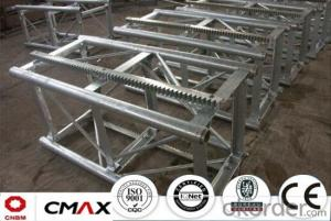 Building Hoist Mast Section Manufacturer with Max 2ton Capacity