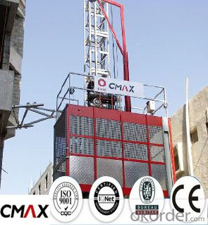 Building Hoist Mast Section Manufacturer with Max 2.4ton Capacity