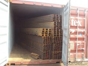 U-channel Carbon Steel JIS Standard Many Sizes Hot Rolled