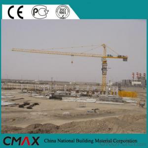 Factory Supply 50m Boom Length Cheap Construction Building Tower Crane