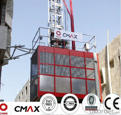 Building Hoist Hot Galvanizing Mast Section with Max 4ton Capacity
