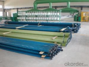 High Pressure Fiberglass Pipe for Waste Water Delivery