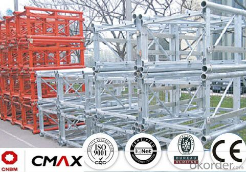 Building Hoist Mast Section Manufacturer with Max 4ton Capacity