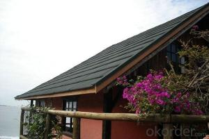 Weather Resistant Synthetic Thatch Roofing Tiles
