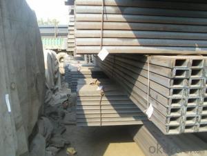 U-channel Steel JIS Standard High Quality Hot Rolled