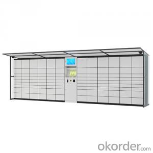 Self-Service Parcel Delivery Locker with Good Quality