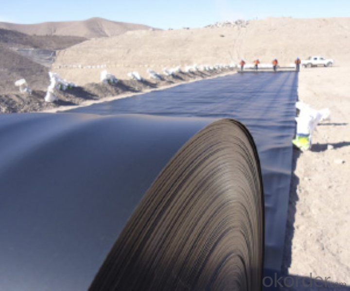 Geomembrana 0.5 mm of HDPE for The Dam Made in China