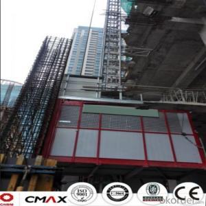 Building Hoist Hot Galvanizing Mast Section with Max 2.4ton Capacity
