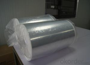 Cryogenic Fiberglass Insulation Paper With Aluminum Foil For LNG tanker LNG storage tank