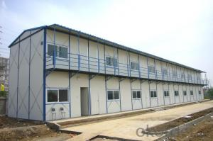 Sandwich Panel House with Morden Design on Cheap Price