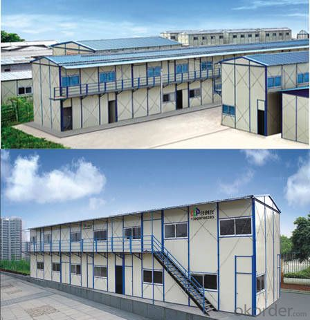 Sandwich Panel House with Beautiful Looking