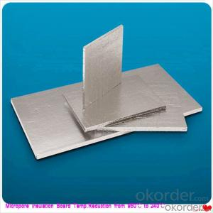 Thermal Insulation Perforated Calcium Silicate Board for EAF No Harmful Inhalable Fibers