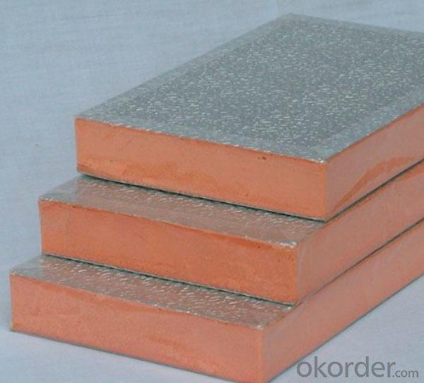 Embossed Aluminum HVAC Aluminum Foil Duct Board