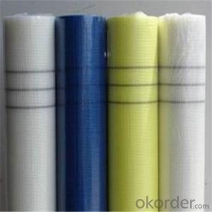 Alkali-Resistent Fiberglass Mesh Cloth 145G/M2 5*5MM With High Tensile Strength Good Price