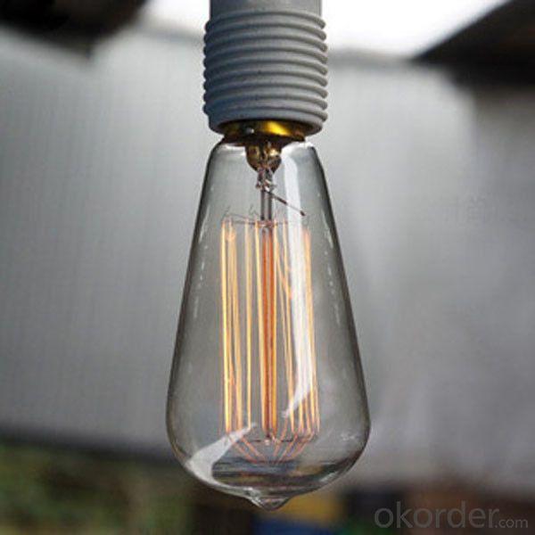 ST64 Squirrel-Cage Edison Filament Decorative lamps Edison Bulb