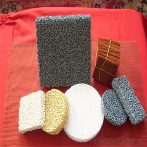 Casting Used Porous Alumina Ceramic Foam Filter