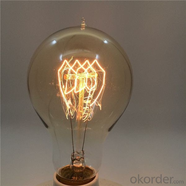 A19 / A60 25W-60W Edison Light Bulbs with UL