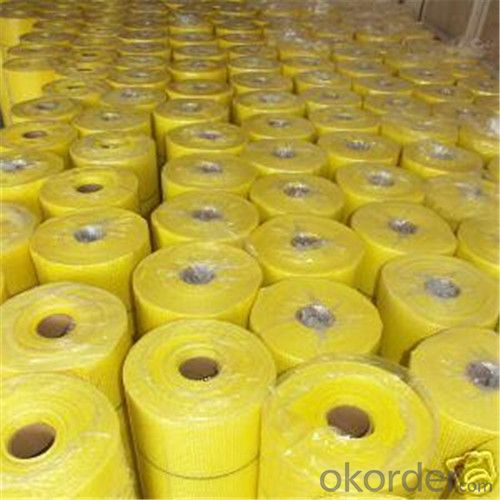 Alkali-Resistent Fiberglass Mesh High Quality 95G/M2 6*6/Inch With High Tensile Strength