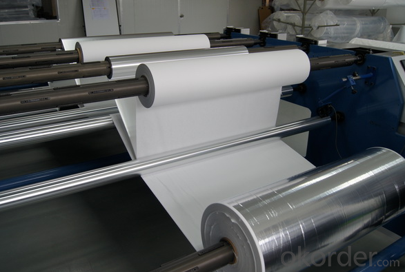 Cryogenic Micro Fiberglass Insulation Paper  With Aluminum Foil For LNG