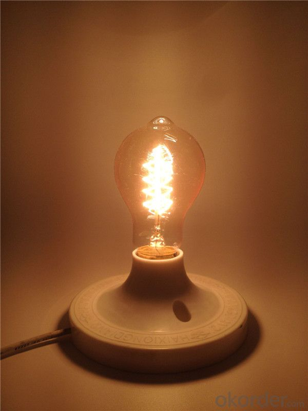 A19 Decorative Pendant Light Vintage Industrial Style Edison Bulb