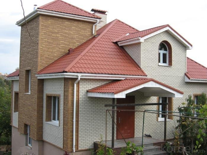 Villa of Prefabricated Light Steel House Cheaper  for Fast Installation and High Safety