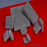 Filtro de espuma cerámica de alúmina porosa usada en fundición