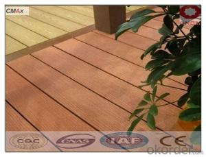 DIY WPC Decking Outdoor, Jointed Decking With CE Passed